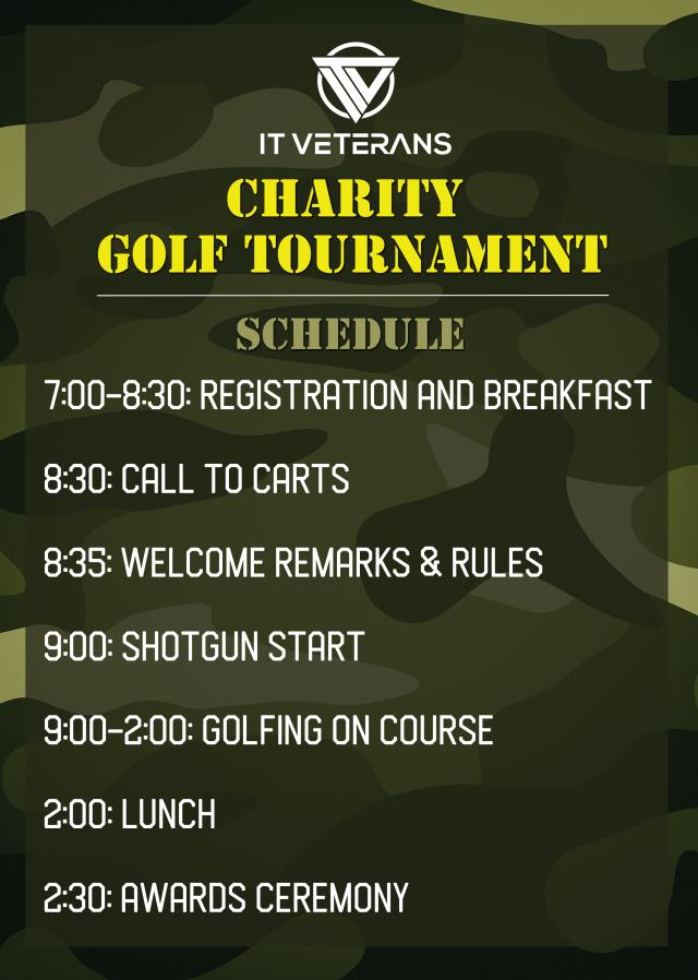 golf schedule